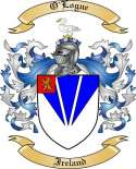 O'Logue Family Crest from Ireland