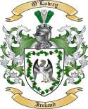 O'Lowry Family Coat of Arms from Ireland