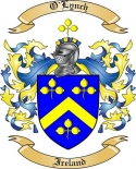 O'Lynch Family Coat of Arms from Ireland