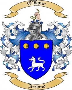 O'Lynn Family Coat of Arms from Ireland
