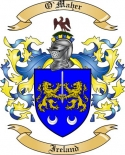 O'Maher Family Crest from Ireland