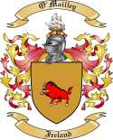 O'Mailley Family Coat of Arms from Ireland