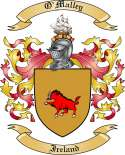 O'Malley Family Coat of Arms from Ireland