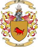 O'Mally Family Coat of Arms from Ireland