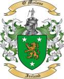 O'Malone Family Coat of Arms from Ireland