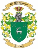 O'Managhan Family Coat of Arms from Ireland