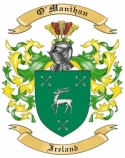 O'Manihan Family Coat of Arms from Ireland