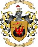 O'May Family Coat of Arms from Scotland