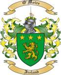 O'Moire Family Coat of Arms from Ireland
