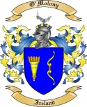 O'Molony Family Crest from Ireland