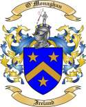 O'Monaghan Family Coat of Arms from Ireland