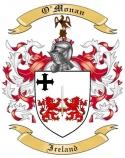 O'Monan Family Coat of Arms from Ireland