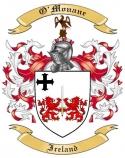 O'Monane Family Coat of Arms from Ireland
