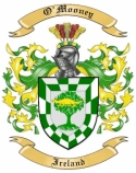 O'Mooney Family Coat of Arms from Ireland