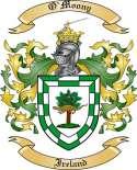 O'Moony Family Coat of Arms from Ireland