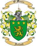 O'Moore Family Coat of Arms from Ireland