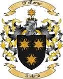 O'Moran Family Coat of Arms from Ireland