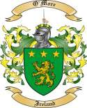 O'More Family Crest from Ireland