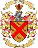 O'Moy Family Crest from Ireland