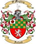 O'Moylery Family Crest from Ireland