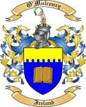 O'Mulconry Family Coat of Arms from Ireland