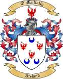 O'Mullally Family Crest from Ireland
