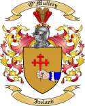 O'Mullery Family Coat of Arms from Ireland