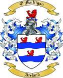 O'Mulligan Family Crest from Ireland