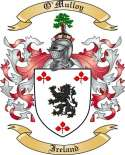 O'Mulloy Family Crest from Ireland