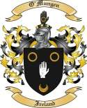 O'Mungen Family Coat of Arms from Ireland