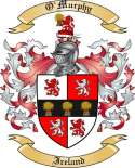 O'Murphy Family Crest from Ireland