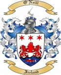 O'Neill Family Crest from Ireland