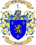O'Quilligan Family Coat of Arms from Ireland