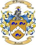 O'Reagan Family Coat of Arms from Ireland