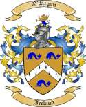 O'Regan Family Coat of Arms from Ireland