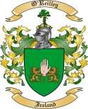O'Reilley Family Coat of Arms from Ireland