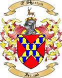 O'Sharron Family Coat of Arms from Ireland2