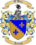 O'Shea Family Crest from Ireland