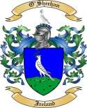 O'Sheehan Family Coat of Arms from Ireland