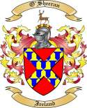 O'Sheeran Family Crest from Ireland2