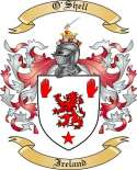 O'Shell Family Crest from Ireland