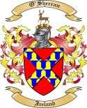 O'Sherran Family Crest from Ireland2