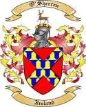 O'Sherren Family Crest from Ireland2