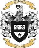 O'Sherry Family Coat of Arms from Ireland
