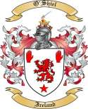 O'Shiel Family Coat of Arms from Ireland