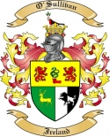 O'Sullivan Family Crest from Ireland