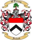 O'Tierney Family Coat of Arms from Ireland