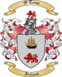 O'Tome Family Crest from Ireland