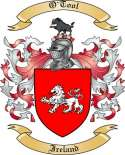 O'Tool Family Crest from Ireland