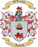 O'Toomie Family Crest from Ireland